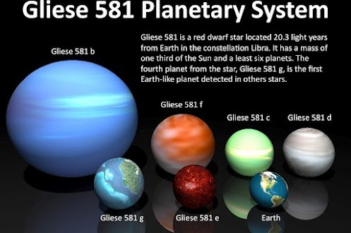 Gliese 581g Planet Most Similar To Earth Unbelievable