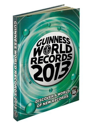 GUINNESS BOOK OF RECORDS 2013 PDF