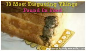 things in food