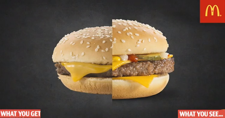 Why Fast Food Look Good In Ads