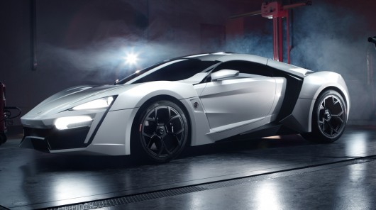 $3.5 million Lykan Hypersport!