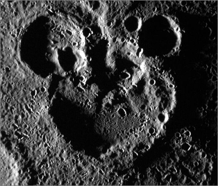 Mickey Mouse Craters On Mercury