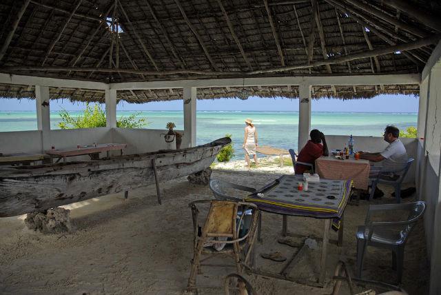 View From The Rock Restaurant, Zanzibar