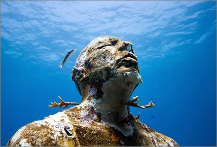 Evolving Underwater Sculptures