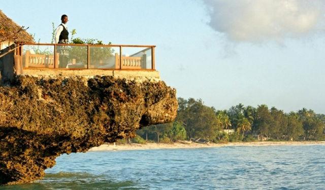 The Rock Restaurant, Zanzibar