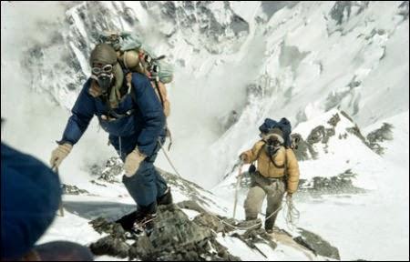 Mount Everest Hikers