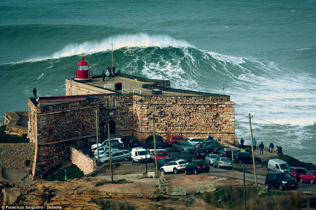 BIGGEST WAVE in the World surfed 100ft