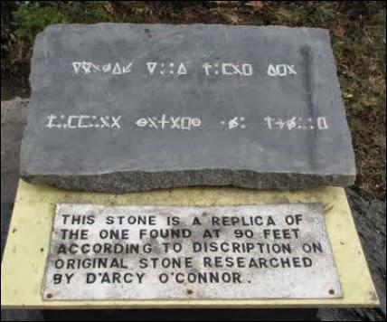 The Oak Island Stone