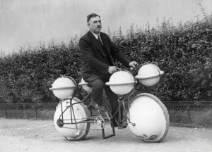 Amphibious Bicycle That Can Be Used On Land And In Water