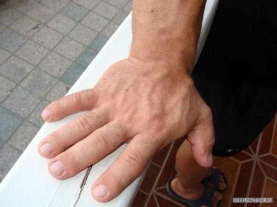 Denis Tsyplenkov's Hand