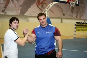 Denis Tsyplenkov hand