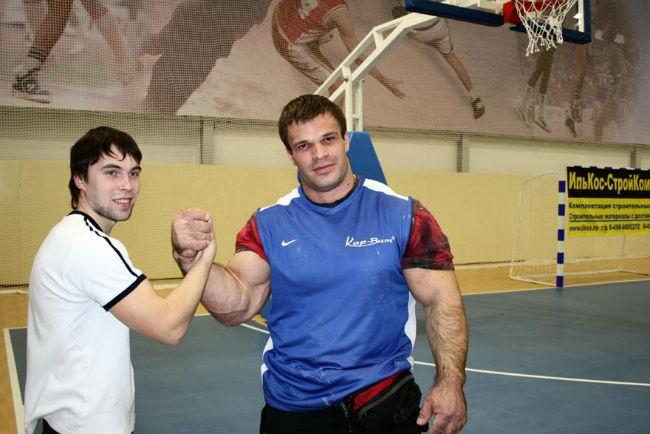 Denis Cyplenkov Shaking Hand