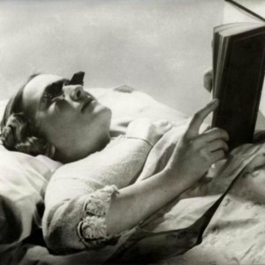 Glasses That Let You Read While Lying Down