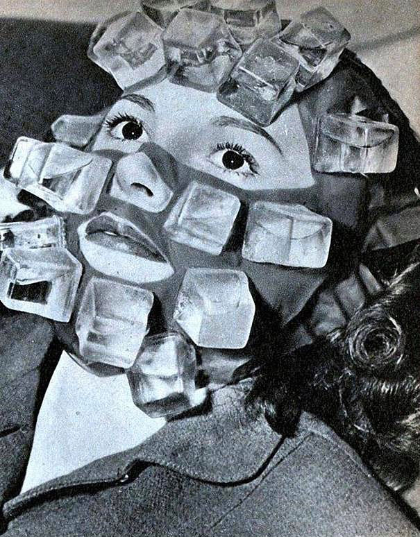 Ice Cube Mask Designed To Cure Hangovers
