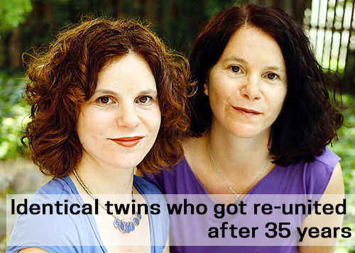 Identical twins who got re-united after 35 years