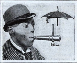 Special Contraption That Lets You Smoke In The Rain