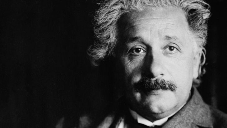here is a recording of albert einstein reading an essay the  albert einstein