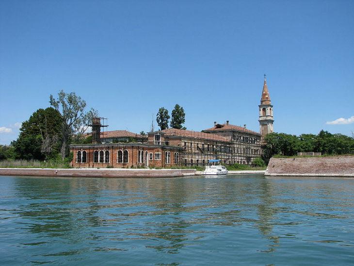 Island Near Venice Called Poveglia
