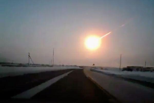 meteor strikes russia