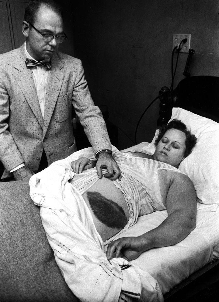 person struck by meteorite ann hodges