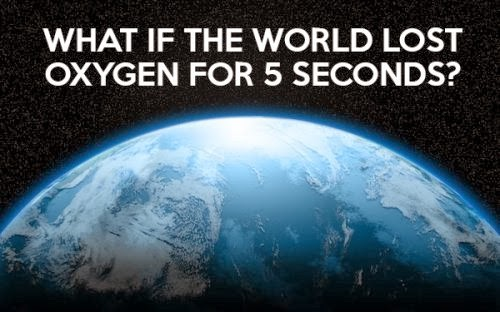 If The Earth Lost Oxygen For 5 Seconds