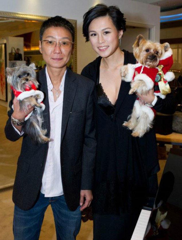 Gigi Chao, right, and her partner Sean Eav