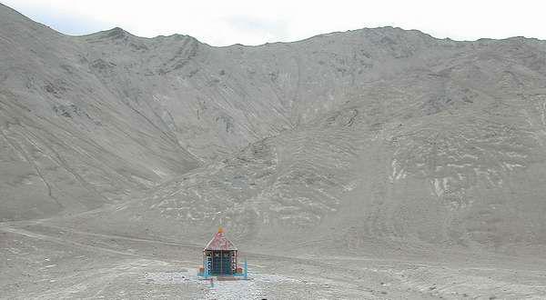 Temple in leh