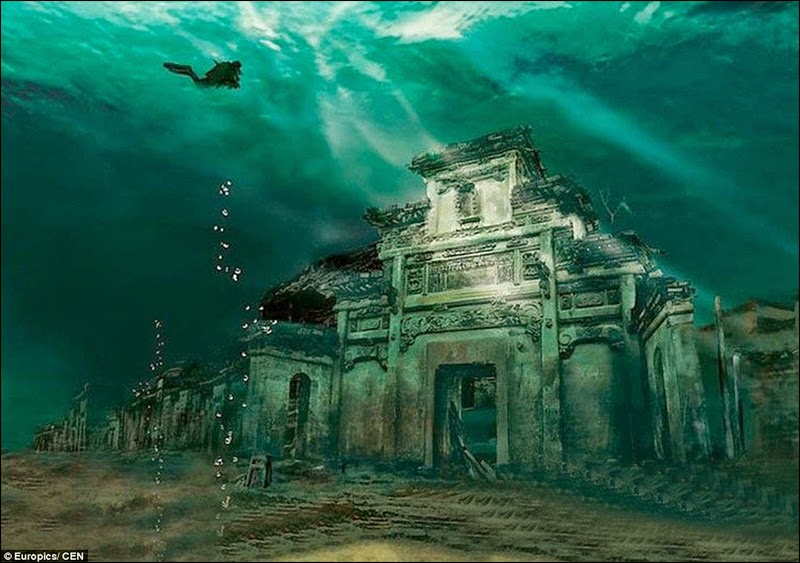 submerged under Lake Qiandao