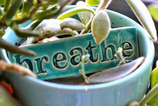 Breathing consciously