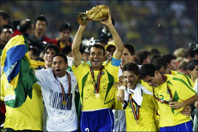 Brazil has worn 5 world cups