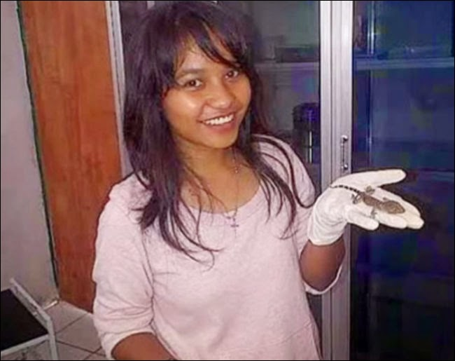 Indonesian Woman Who Gave Birth To A Lizard Baffles Even Doctors