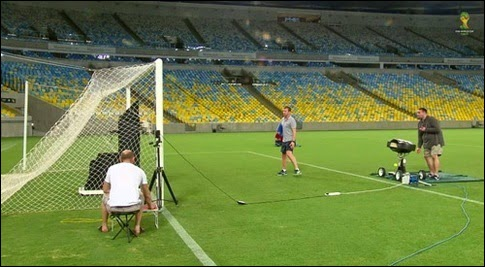 Goal-line technology will be used for the first time in history