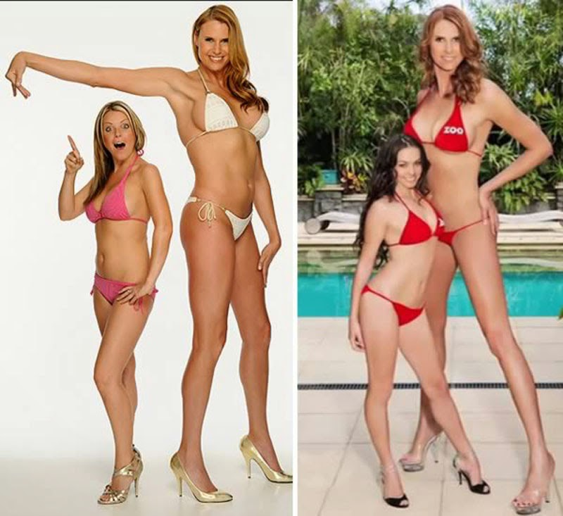 Tallest Model who stands at 6'8
