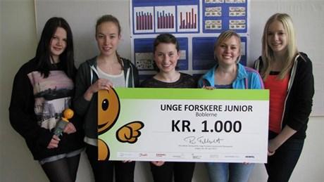 From left : Lea Nielsen, Mathilde Nielsen , Signe Nielsen, Sisse Coltau and Rikke Holm