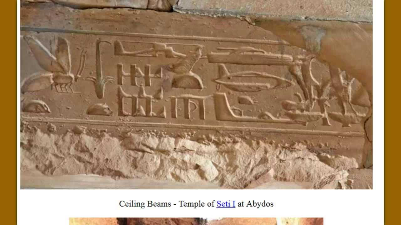Ancient Art Depicts Dinosaurs, Flying Aircrafts and ...