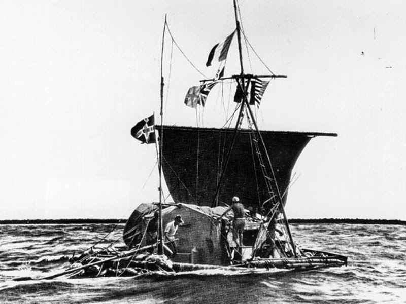 Thor Heyerdahl You could call him, the Norwegian Indiana Jones.