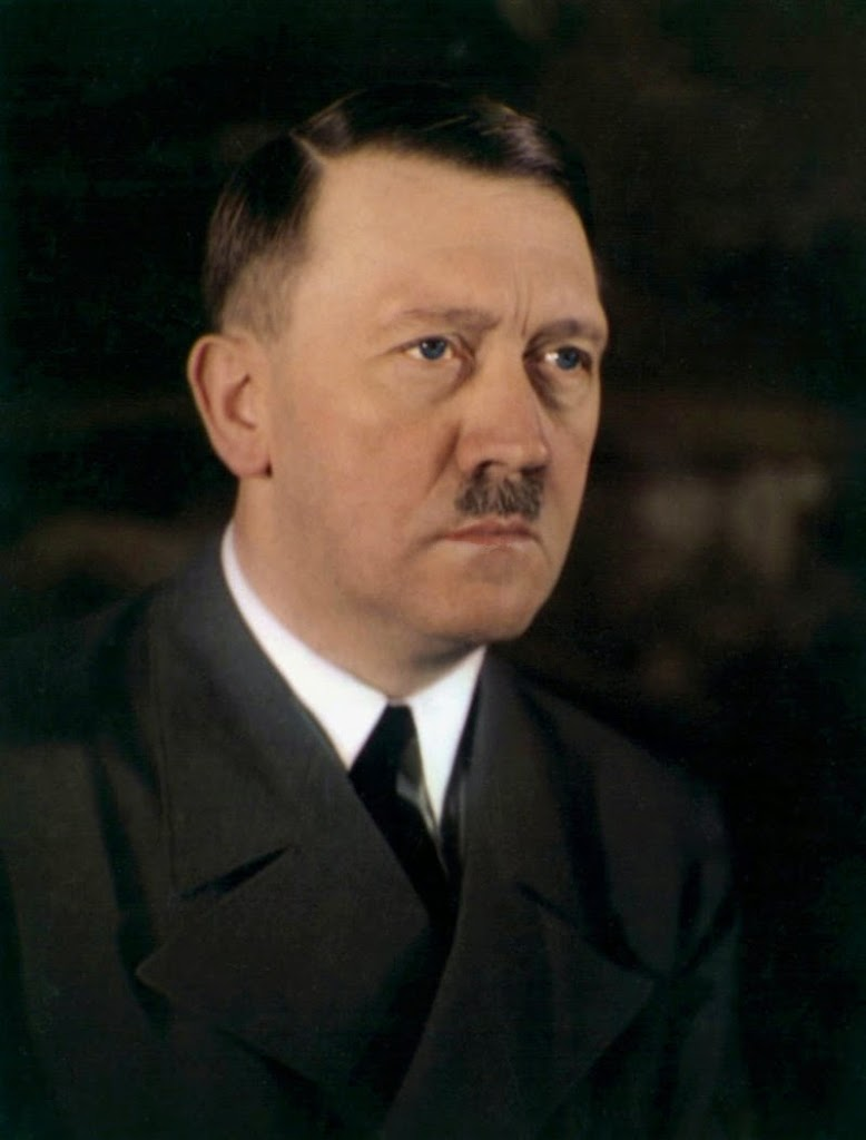 A unique Adolf Hitler photo that captures the blue in his eyes