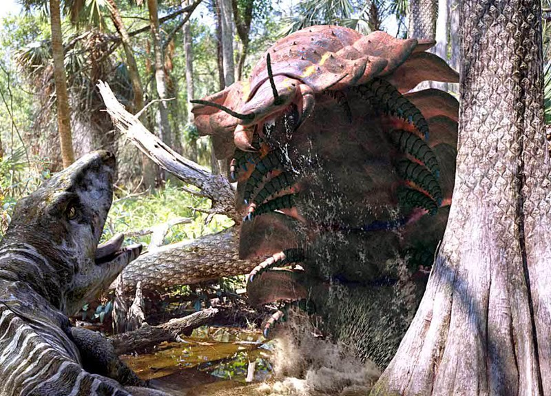 10 Most Terrifying Creatures That Once Lived On The Earth