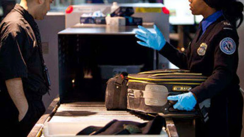 A TSA agent was in 2012 convicted of stealing goods
