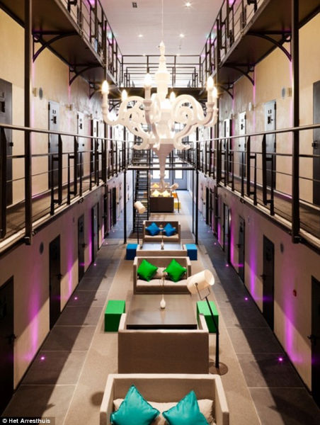 Prison Now A 5 Star Luxurious Hotel