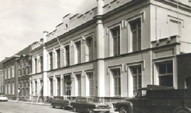 Het Arresthuis when it was a notorious prison.