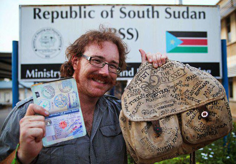 Man Sets Guiness World Record After Travelling To 201 Countries Without Flying