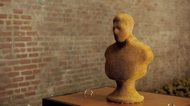 '3B printing' sculptures