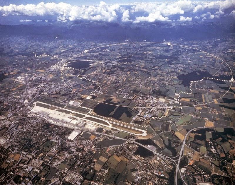 CERN, Geneva Switzerland and France Border