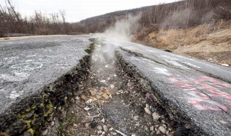 Centralia in Pennsylvania
