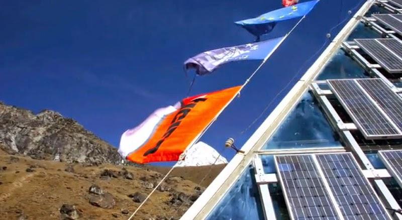 Sagarmatha National Park's Pyramid Laboratory in Nepal