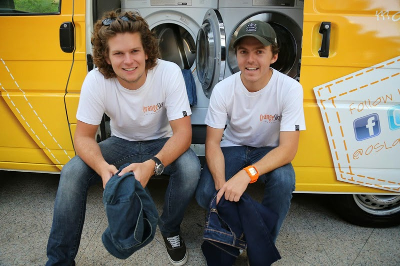 Orange Sky Laundry Founders