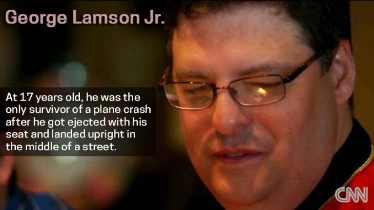 Survivor George Lamson Jr.