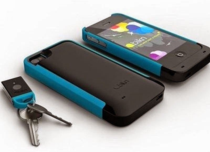 The BiKN Tracking Device for Keys and Phone.