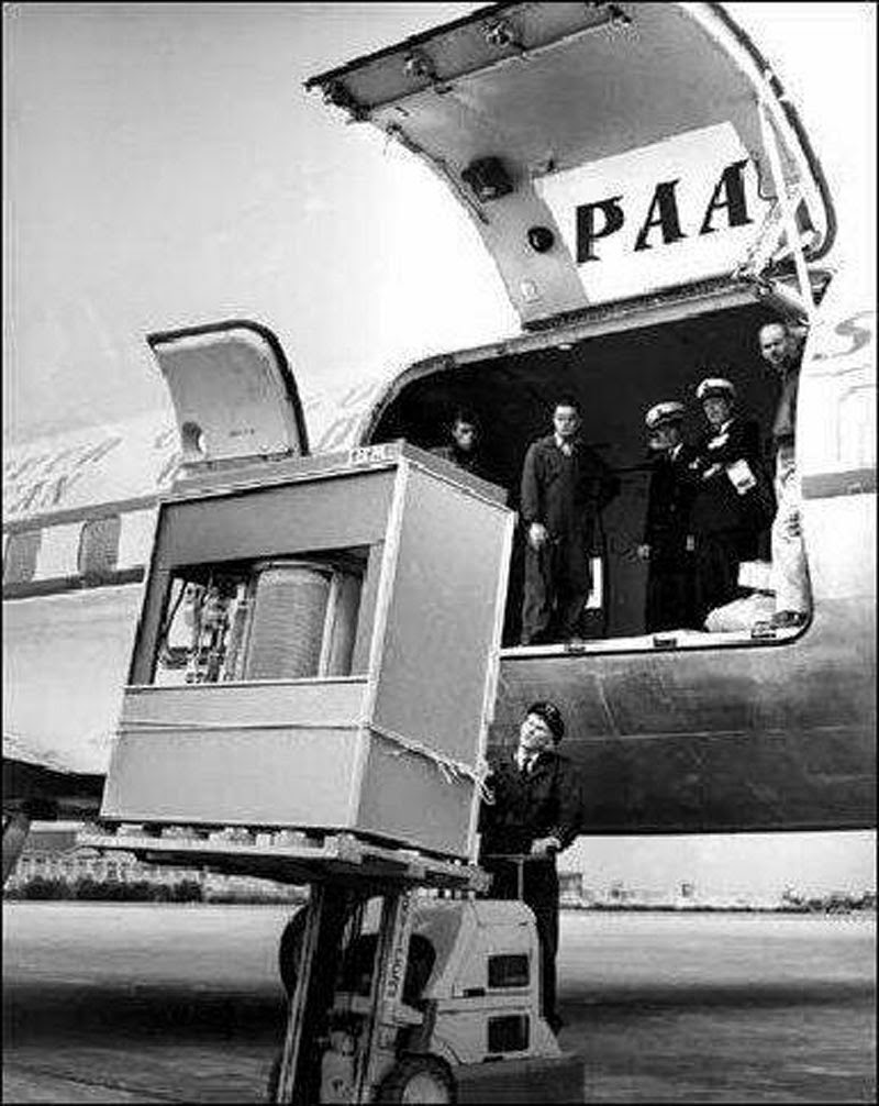 A hard disk in 1956
